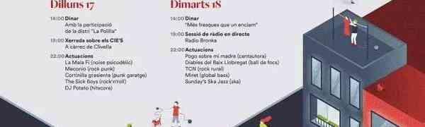 Radio en vivo en las Fiestas (A) Gracia