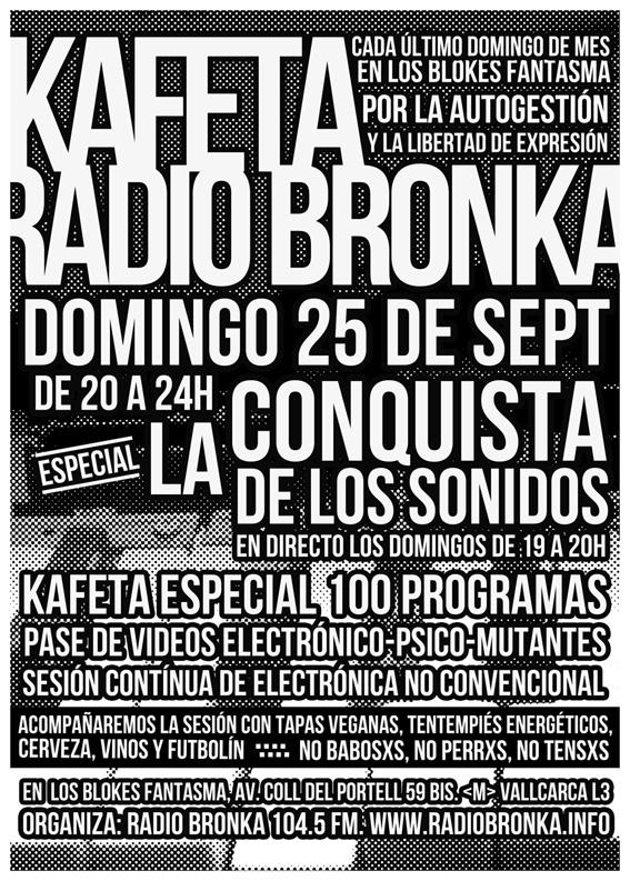 Kafeta Bronka (LCDLS). Septiembre 2016-baja